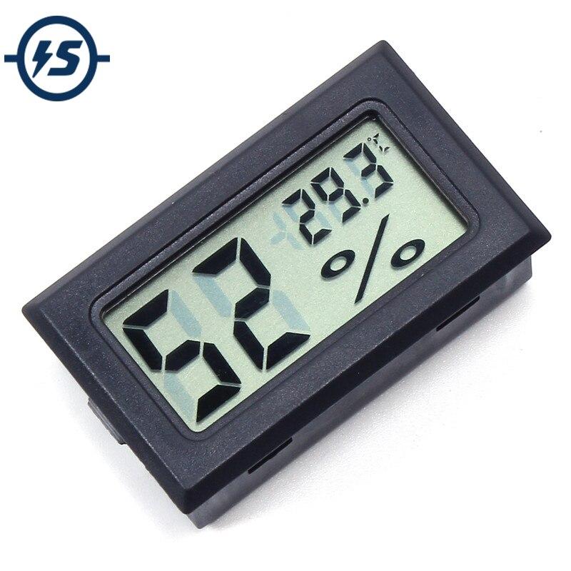 Цифровой измеритель температуры и влажности, ЖК-термометр, гигрометр, мини электронный встроенный зонд, FY-11 48*28,6*15,2 мм