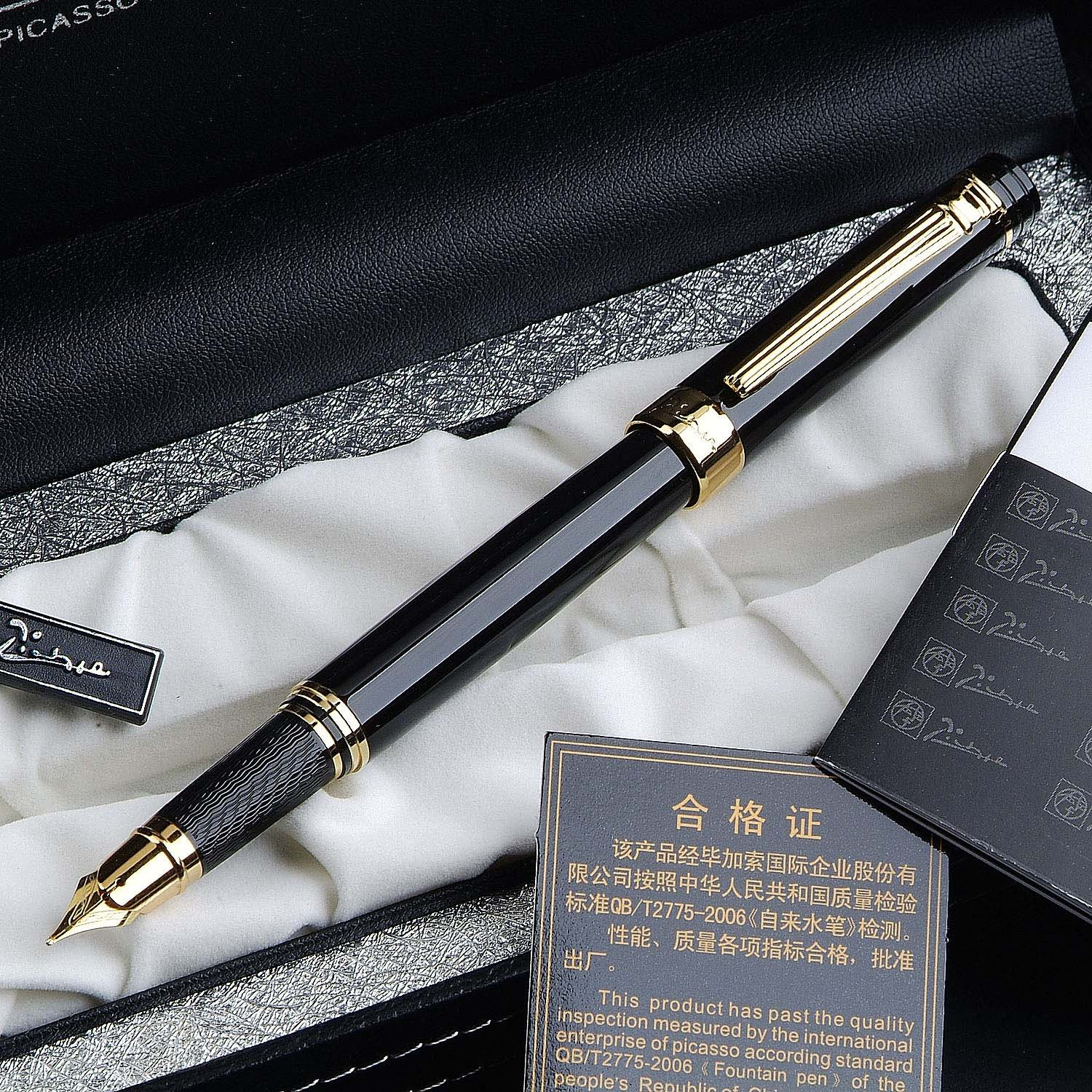 Marker pen High-quality copper material Picasso fountain pen free shipping Roman Love