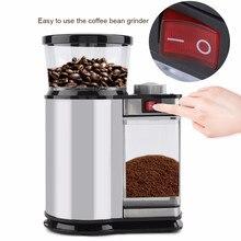 купить Electric Coffee Grinders Mill Herbs Nuts Salt Pepper Grinder Powerful Spice Seeds Manual Handmade Coffee Bean Home Kitchen Tool по цене 3901.81 рублей