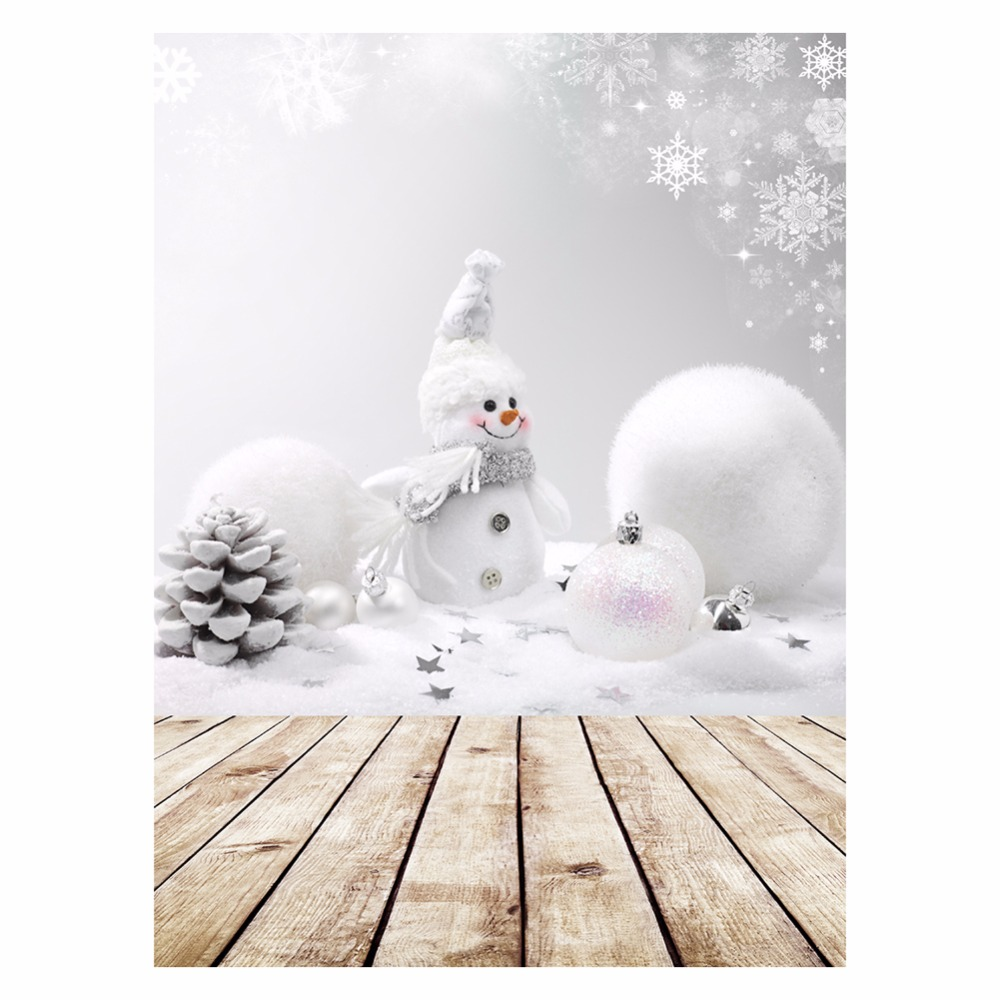 ALLOYSEED 3x5ft Photography Vinyl Background Christmas Theme Snowman Photographic Backdrops For Studio Photo Props 3D Effects christmas photography background vinyl photo props children backdrops for studio 7x5ft or 5x3ft christmas061