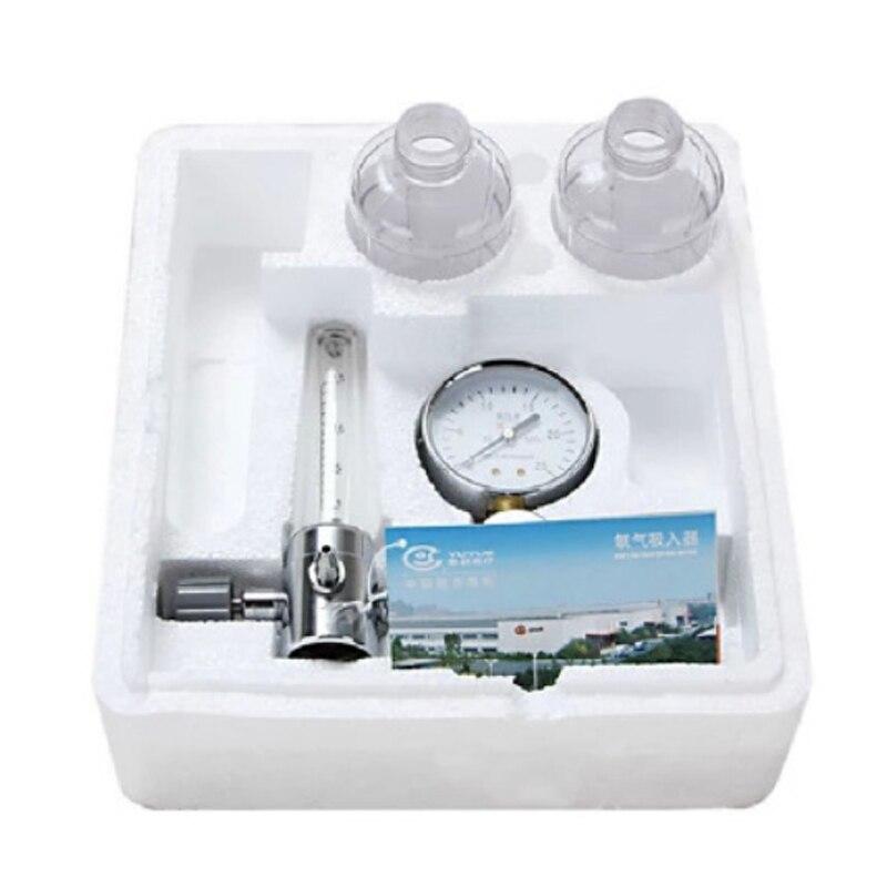 Bouteille d'oxygène concentrée d'inhalateur d'oxygène d'inhalateur d'oxygène de bouée de maison de cylindre de l'oxygène 2018 avec le mètre de pression livraison gratuite