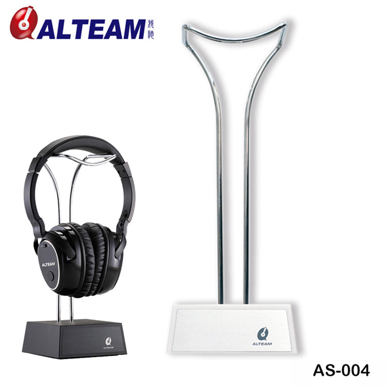 Universal Desk Classic Simple Design Stainless Metal Metallic Gaming Earphone Headset Headphone Display Holder Stand Rack Hanger