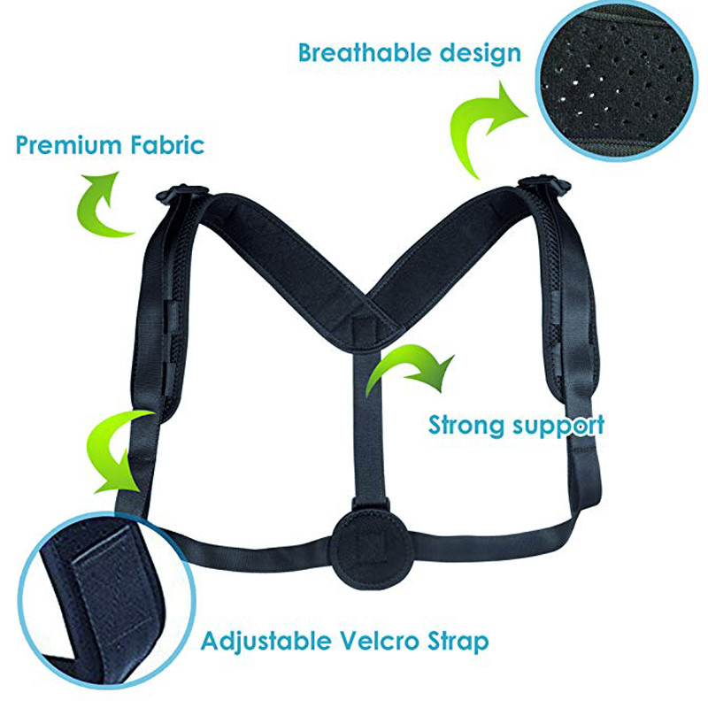 WARMLIFE Back Posture Corrector Belt with Adjustable Magic Straps of High Quality to Correct Humpback Non Surgically Helps to Improve the Correct Posture 3