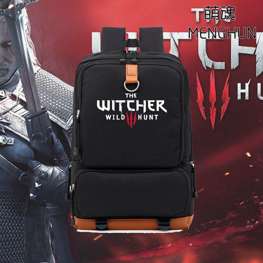 new design game concept Video game Pc game The Witcher Wild Hunt backpack game fans backpacks gift for boyfriend bags nb185 платок leo ventoni leo ventoni le683gwawua9