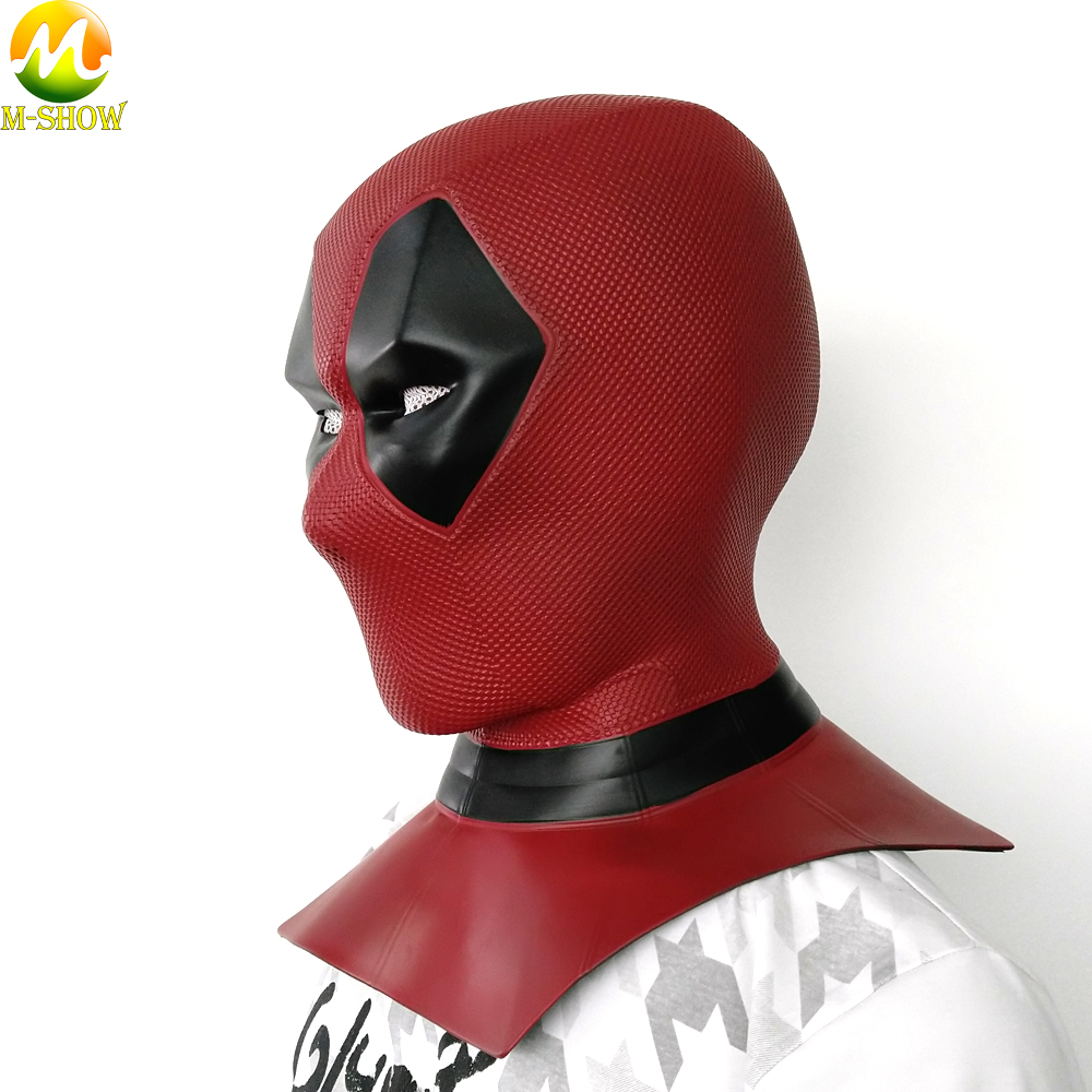 Moive Deadpool 2 masque respirant Latex super-héros masque complet Halloween Cosplay accessoires adulte hommes casque