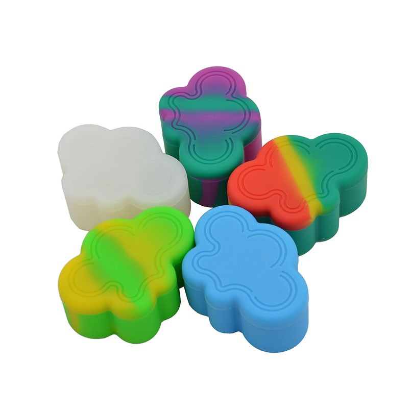 20pcs 4 in 1 22ml Cloud Bho Silicone Concentrate oil wax Container jars or Non stick
