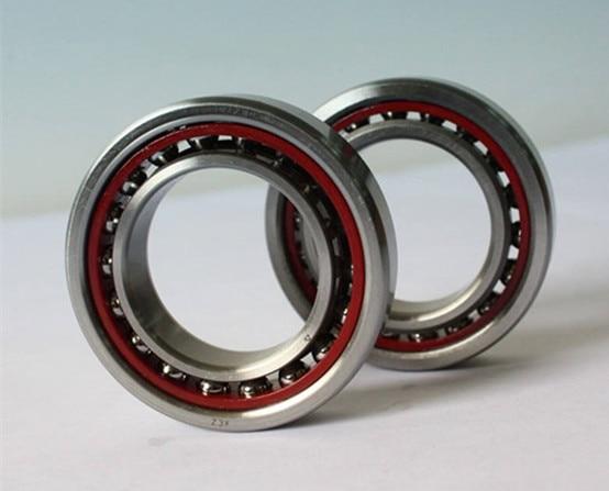 50mm diameter Angular contact ball bearings 7010 AC/P4DT 50mmX80mmX32mm,Contact angle 25,ABEC-7 Machine tool