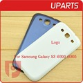 Hight Quality For Samsung Galaxy S3 i9300 i9305 White Black Blue Back Cover Rear Door Housing Battery door free ship