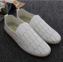 Новое Поступление Микрофибры Мужские Лодка Обувь Весна Лето Легкие Дышащие Ботинки для Взрослых Мужчин Удобные Ленивый Обувь