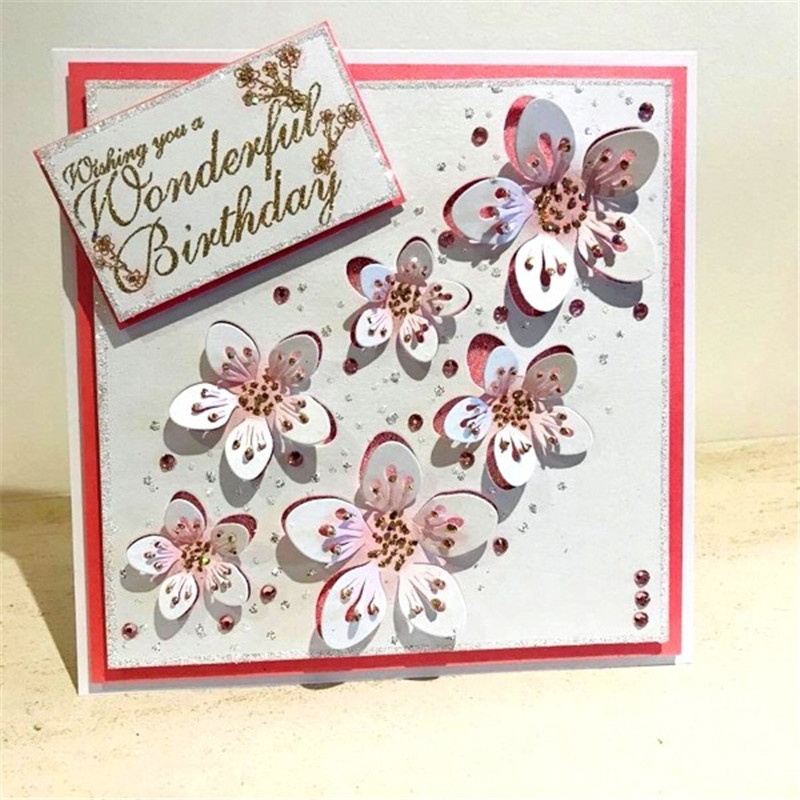 Stunning Butterfly Metal Cutting Dies for Scrapbooking New Dies for Card Making