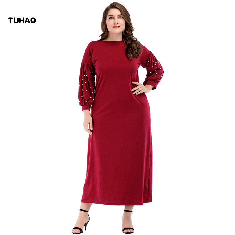 Buy dress women plus size islamic and get free shipping on AliExpress.com 4eedd75b2fb5