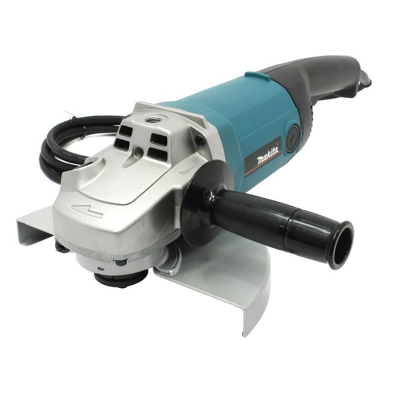 Machine grinding angle Makita 9069SF (Power Of 2000 W, 230mm, soft start, lock spindle) high speed 300w water cooled spindle motor 75v er8 collet milling spindle