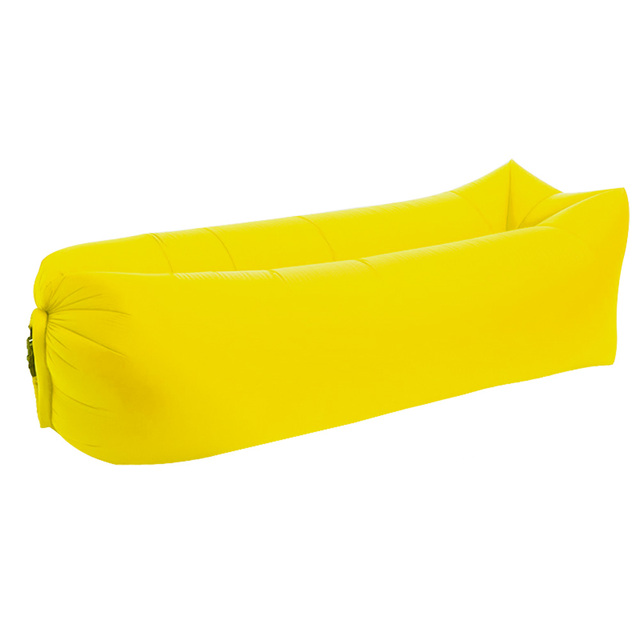 Air Sofa Camping: Fashion Inflatable Air Sofa Bed Lazy Sleeping Bag Couch
