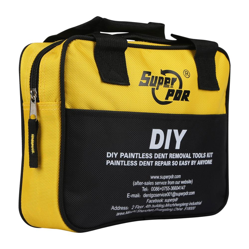 DIY Super PDR Tool Bag For Auto High Quality Household Tool Bag For Screwdrivers Hammer Glue Gun Dent Removal Repair Tools Bag