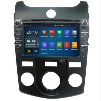 2019 Android 8.1 car multimedia DVD player Radio GPS FOR KIA CERATO, FORTE Manual & Auto Air-Conditioner version 2008-2012 maps