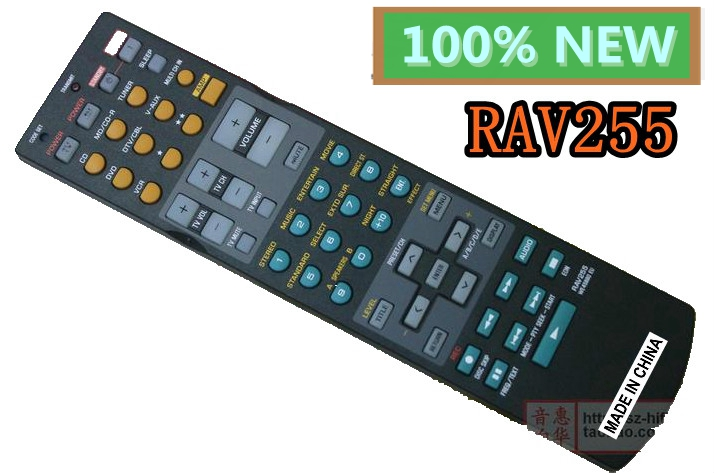 New remote control RAV255 for YAMAHA home theater remote combination new remote control for philips home theater system remoto controle fernbedienung