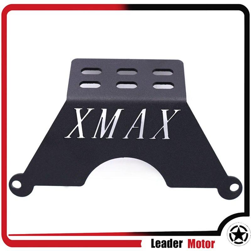 Heinmo for Yamaha XMAX300//250 2017-2018 Motorcycle Stand Holder Phone GPS Plate Mirror Bracket Black