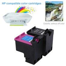 2 unids 901 para hp901 xl hp901 color/negro cartuchos de tinta para hp officejet 4500 j4580 j4550 j4540 j4680 impresora j4535