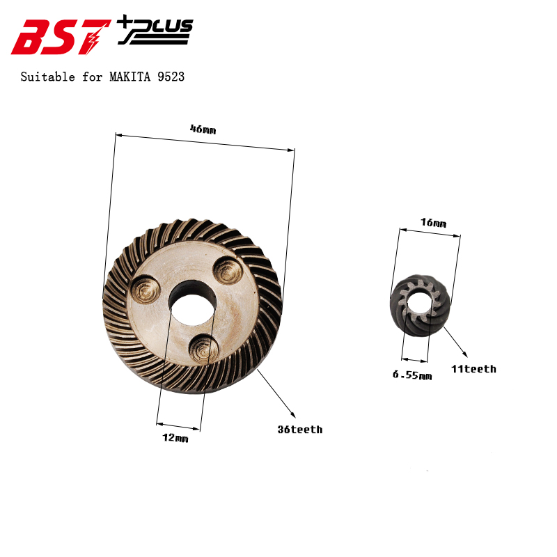 Gear  FOR MAKITA 9523 Angle Grinder ,Power Tools Accessories