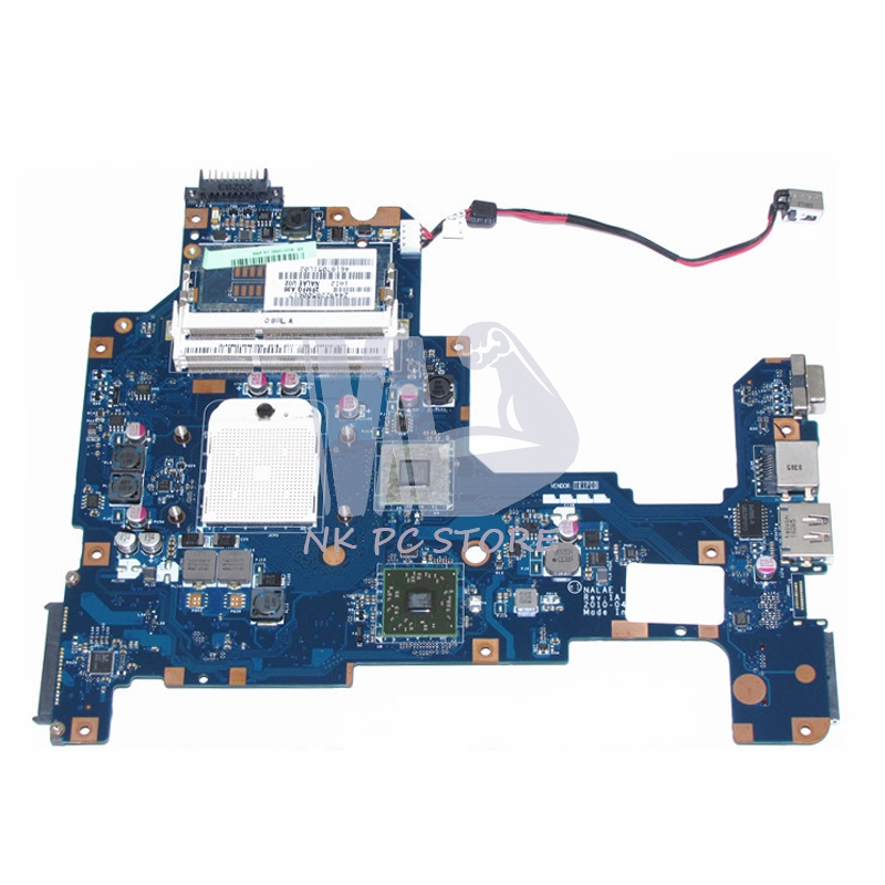 NOKOTION K000103980 Main Board For Toshiba Satellite l675 L675D Laptop Motherboard NALAE LA-6053P HD3200 DDR3 Socket s1 Free CPU nokotion a000076380 laptop motherboard for toshiba satellite l655d l650d socket s1 ddr3 da0bl7mb6d0