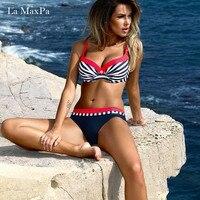 La MaxPa Bikinis Set Swimwear Women 2018 Girls Sexy Bikini Push Up Multicolor Swimming Suit For