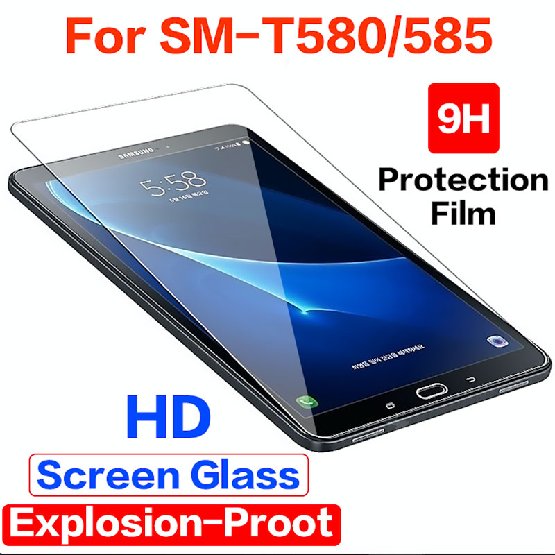 Tempered Glass For Samsung Galaxy Tab A A6 10.1 2016 Screen Protector For Galaxy Tab A 10.1 SM-T580 SM-T585 SM-587 SM-t585