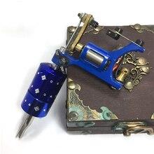 Top Tattoo-Smith Rotary Motor Tattoo Machine Gun Liner Shade Swiss Quality Motor Double Auto lock Tattoo Grip tips