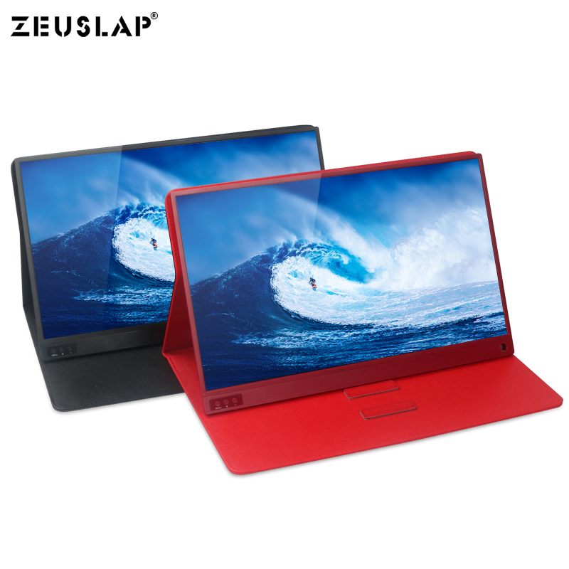 Image 2 - 15.6 inch Touch Screen Monitor Portable Ultrathin 1080P HDR IPS HD USB Type C Dispaly for laptop phone XBOX Switch and PS4-in LCD Monitors from Computer & Office