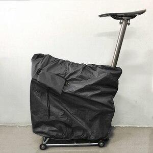 Folding bike Anti-dust Bag for Brompton Bicycle(China)