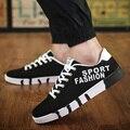 Высокое Качество Мужчины Холст Обувь 2017 Мода Высокого верха мужская Повседневная Обувь Дышащая Холст Печати Студенты Теплые Ботинки Бренда обуви
