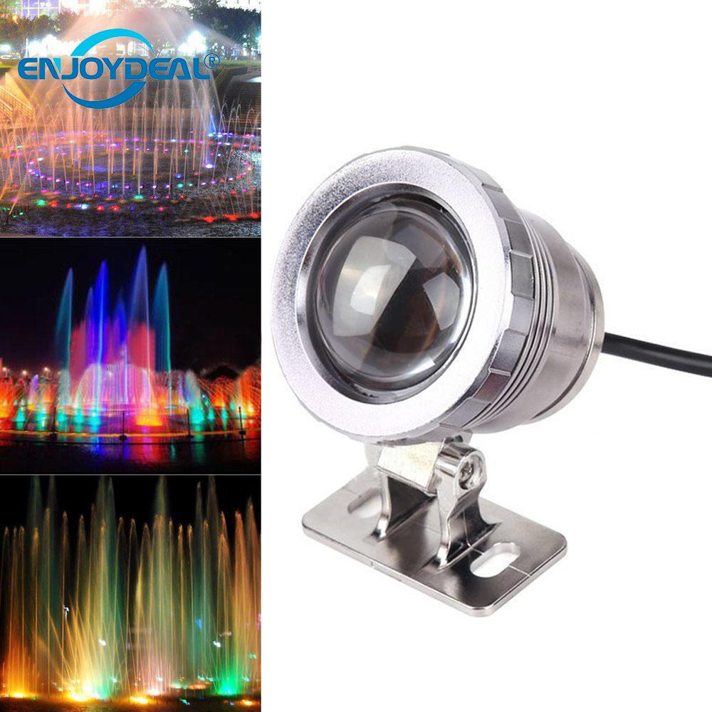 5W 10W RGB Led Underwater Light 12V 85-265V Waterproof Fountain Pool Landscape Lamp With Remote Controller