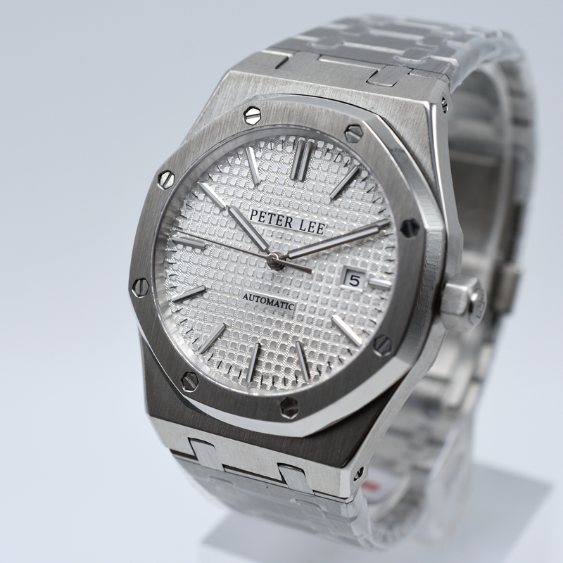 HTB1T.1KabGYBuNjy0Foq6AiBFXak Lovenwatches | PETER LEE Nautilus Review | Brand Luxury Full Steel Silver Waterproof Automatic Mechanical Men Watches Bracelet Dial 40mm Fashion Business Clocks