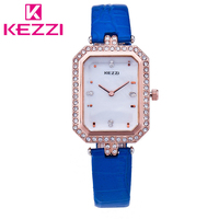KEZZI K 777 Fashion Women Rhinestone Watch Ladies Luxury Brand Quartz Watch Relogio Feminino Gift KZ04
