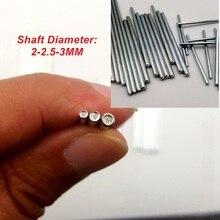 5 шт/10 шт 2 мм 2,5 мм 3 мм Игрушечная модель Железный вал зубчатый привод Короткая ось
