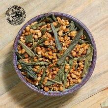 (loong)Welcome wholesale japanese Genmaicha tea,100g Organic Japan Roasted Brown Rice Green Tea sweet tea