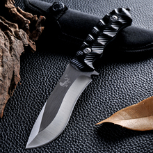Hunting Camping Knife New Style Outdoor Fixed Blade Knife Survival Tactical Cold Steel Facas Taticas Knife D2 Navajas Zakmes