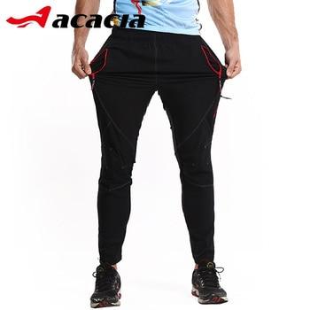 f6a6ccc6c Pantalones deportivos de ACACIA Ciclismo Bicicleta de montaña para hombre  Pantalones largos de Ciclismo ajustados transpirables