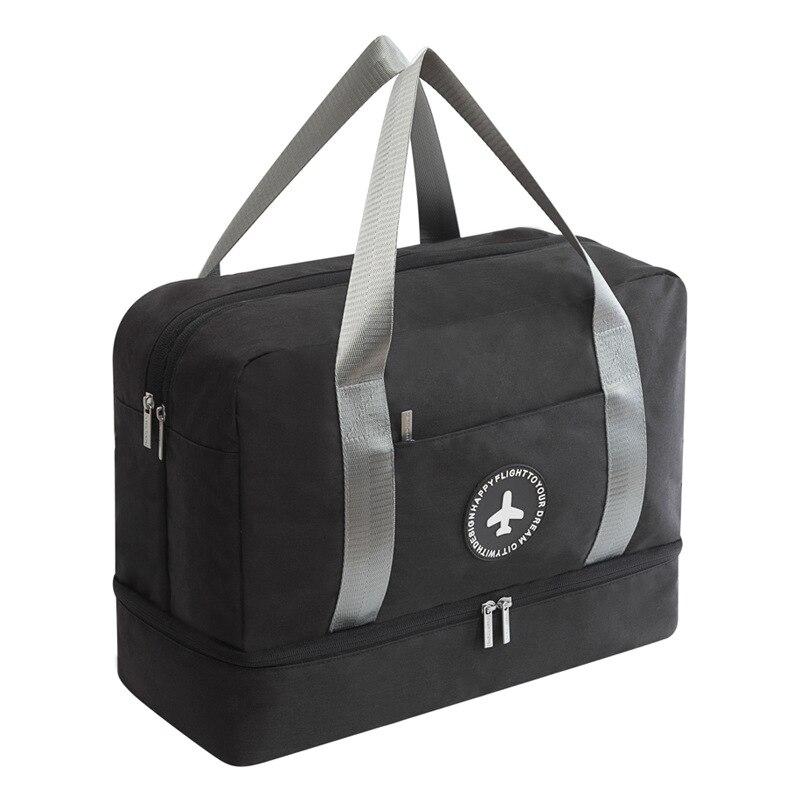 Портативная дорожная сумка JULY'S SONG, водонепроницаемая многофункциональная сумка для сухого влажного разделения, дорожная сумка для путешествий, Прямая поставка - Цвет: 4