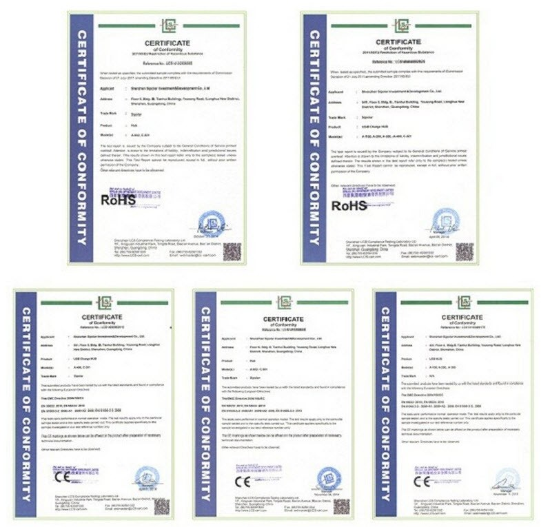 Sipolar certificate