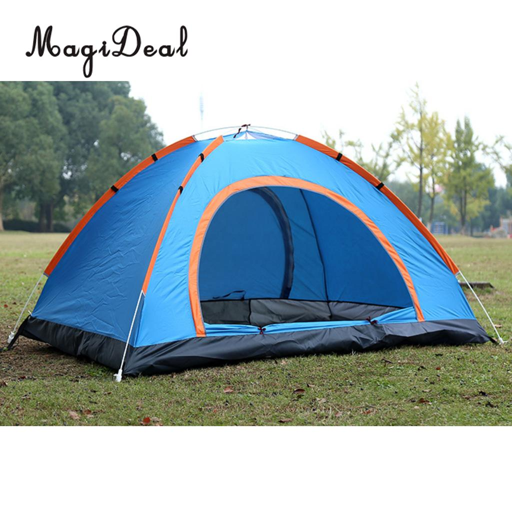 MagiDeal Camping Portable Automatic Tent Pop Up Instant Folding Beach Sun Shelter