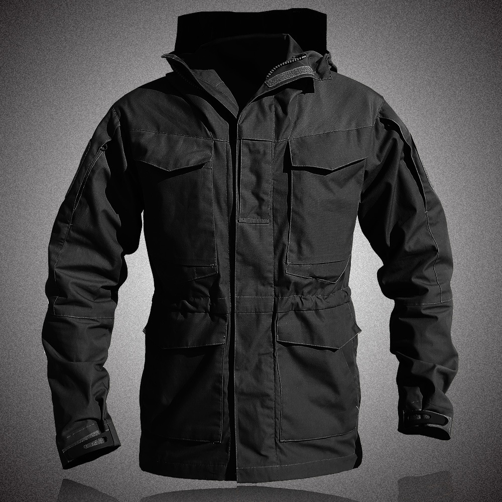 Army Clothes Tactical Windbreaker Men Winter Field Jacket