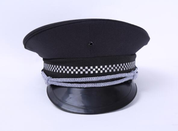 Police Hat army Visor cap Uniform Octagonal Dance Costumes Military Sailor Hats for party  girls coaplay Halloween Christmas