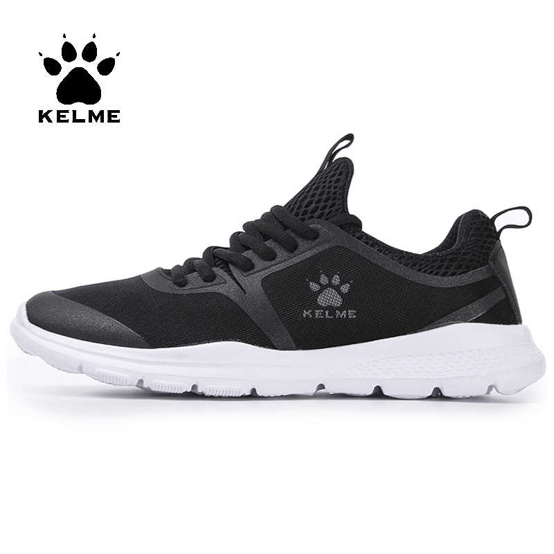 73ef54c24 KELME Для мужчин Кроссовки flynit Для Мужчин's Для женщин Спортивная обувь  Super Light Спорт Обувь дышащая