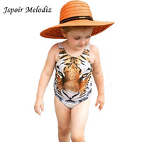 Baby Girl Swimsuit 3D Tiger Face Style Printed Children Kids 1 1