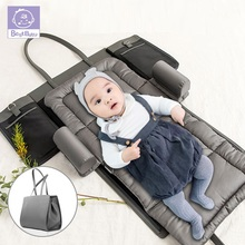 Portable Baby crib Nestbed kids Diaper Bag mommy Maternity Nappy Bag Baby Nursing Diaper Bag Travel Bed Infant carrycot diaper fixed belt baby disposable baby garbage bag diaper pails diapering mommy pail baby care portable nappy plastic bag box