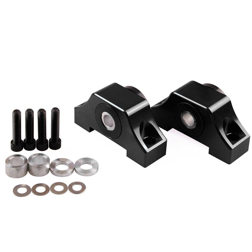 Kit de montaje de par de Motor Universal aleación de aluminio soporte de Motor pieza de repuesto Honda Civic 92-00 D15 D16 B16 B18 B20