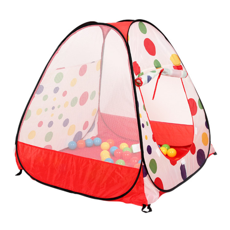 Kids Tent Casa Play Tent Teepee Children Outdoor Toys Kawaii Game Playhouse For Children Foldable Sports Beach Tent