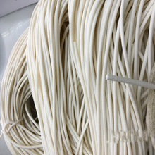 Foamed silicone rubber seal strip Round dia1 1.5 2 3 4 5 6 7 8 9 10 mm Oring line cord Foaming molding damper waterproof