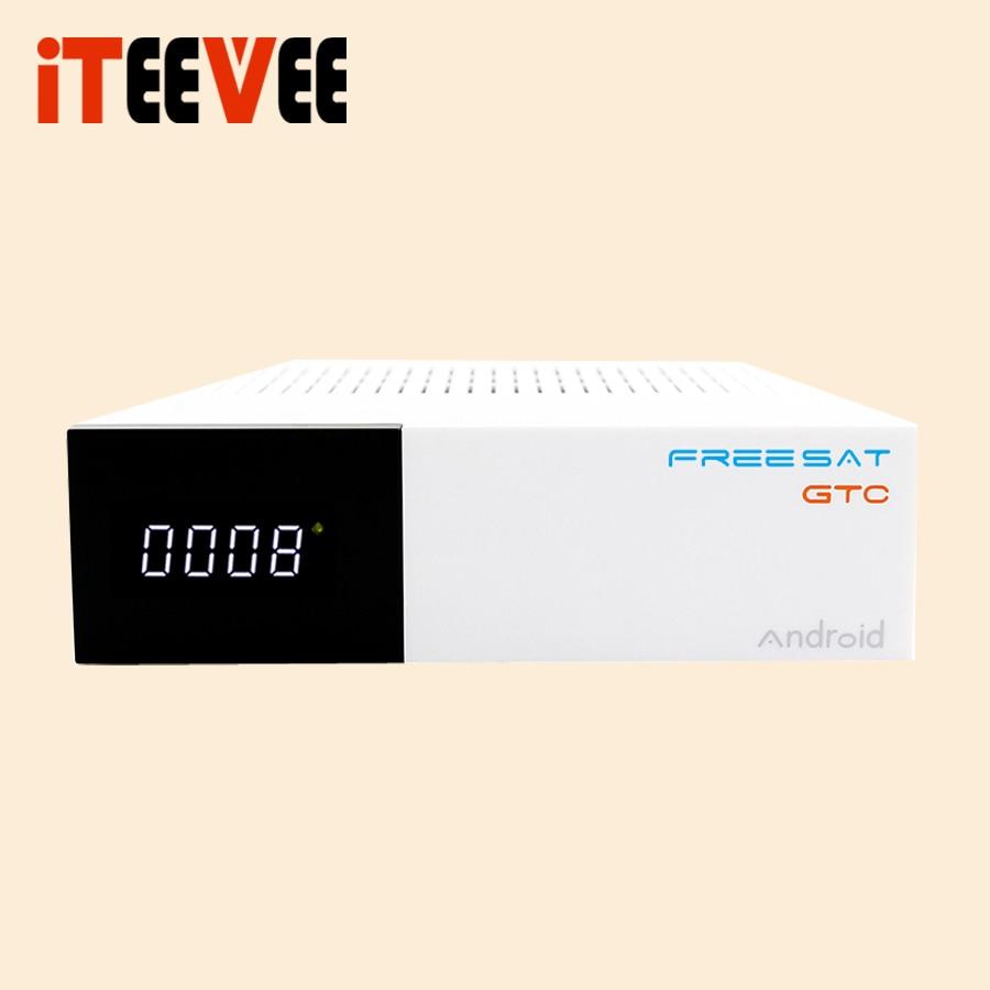 Image 4 - 1 قطعة مجانية سات فريسات GTC أندرويد 6.0 صندوق التلفزيون DVB  S2/T2/كابل/ISDBT Amlogic S905D 2GB RAM-في مستقبل التلفزيون متصل بالقمر  الاصطناعي من الأجهزة الإلكترونية الاستهلاكية على