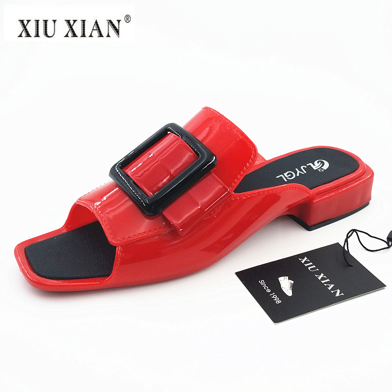 2018 New Design Summer Cool PVC Women Slippers Comfort Low Heel Non Slip Outside Sandal Waterproof Fashion Lady Home Casual Shoe 2018 summer new arrived strap design wedges women sandals peep toe comfort mid heel sexy lady sandal fashion student casual shoe